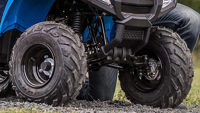SPORTSMAN 100 EFI - GRANDS DÉBATTEMENTS DE SUSPENSIONS